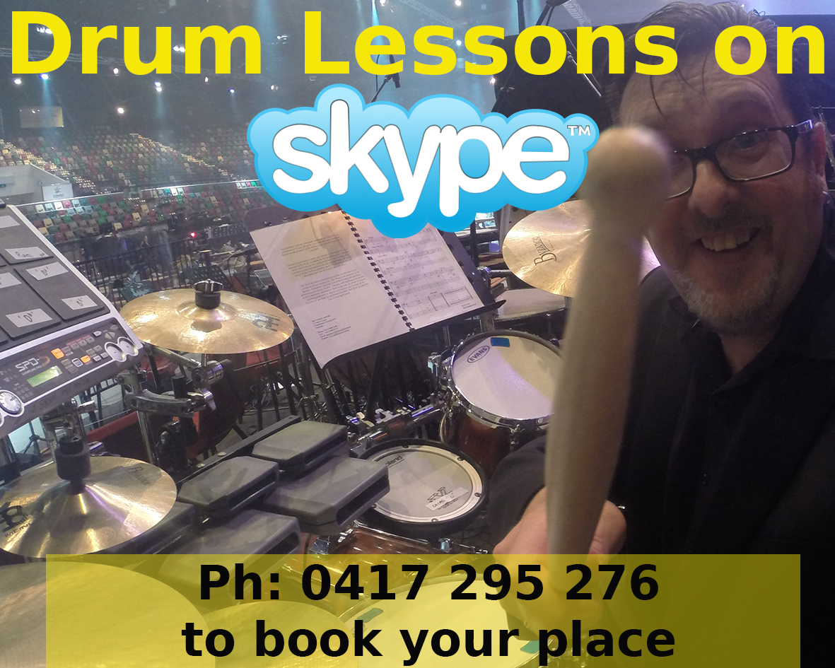 Jeremy Sibson drum lessons on Skype
