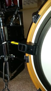 Hybrid Drum Kit kick trigger by Roland