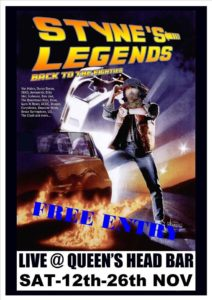Styne's Legends Poster