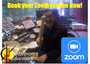 Illustration for zoom online drumming article