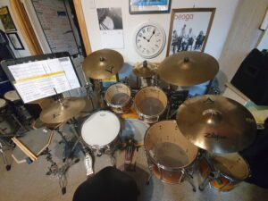 Drum Lessons 2021: The First Week Back